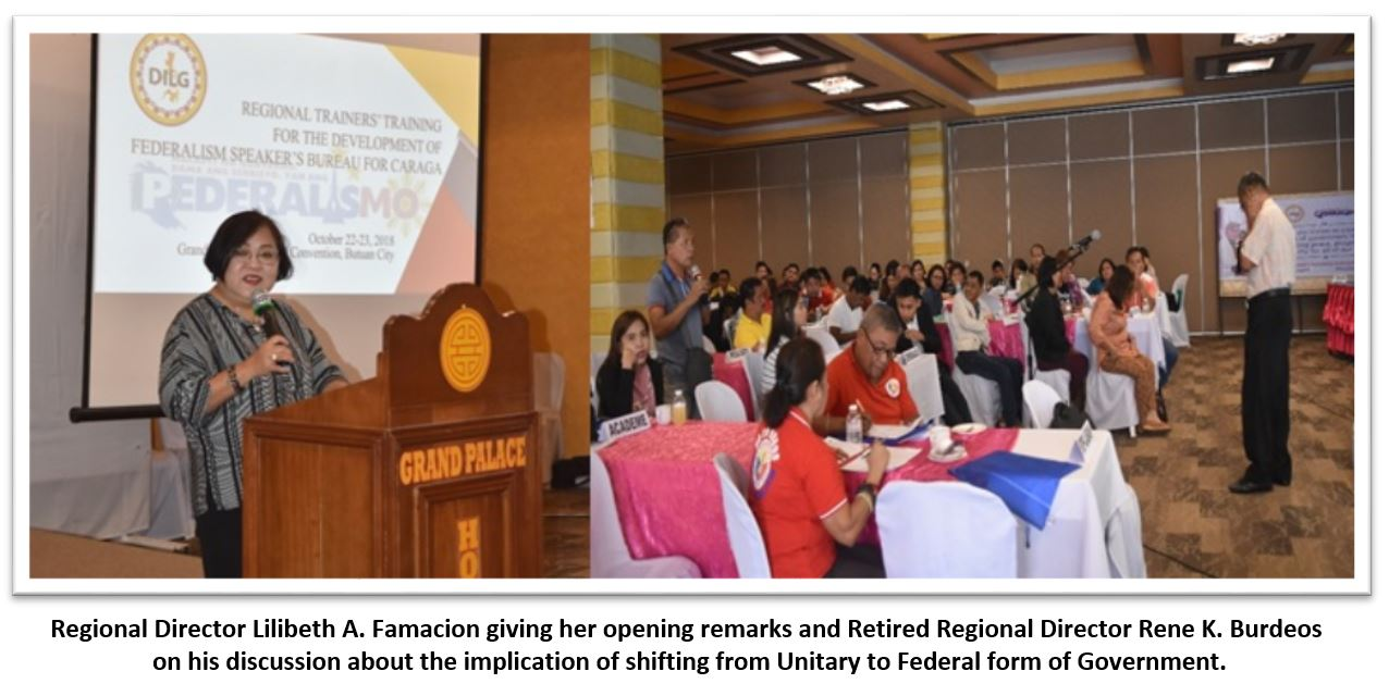 REGIONAL TRAINERS' TRAINING FOR THE DEVELOPMENT OF FEDERALISM